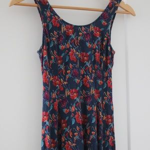 Hollister floral dress XS